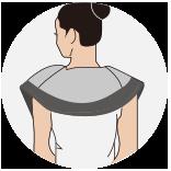 REEAD揉捏宝,3D揉捏宝H7S按摩器,揉捏宝升级版六大按摩部位肩颈